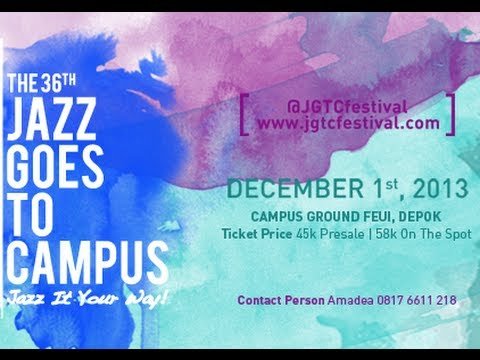 JAZZ Goes To Campus 2013 (footages)