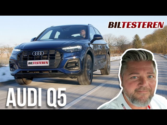 Tak fordi du har dieselmotor, Audi Q5 (test)