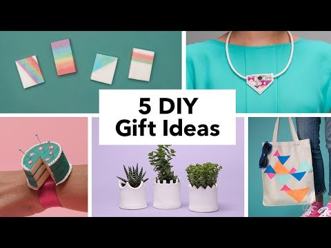 5 DIY Gift Ideas for Mother's Day
