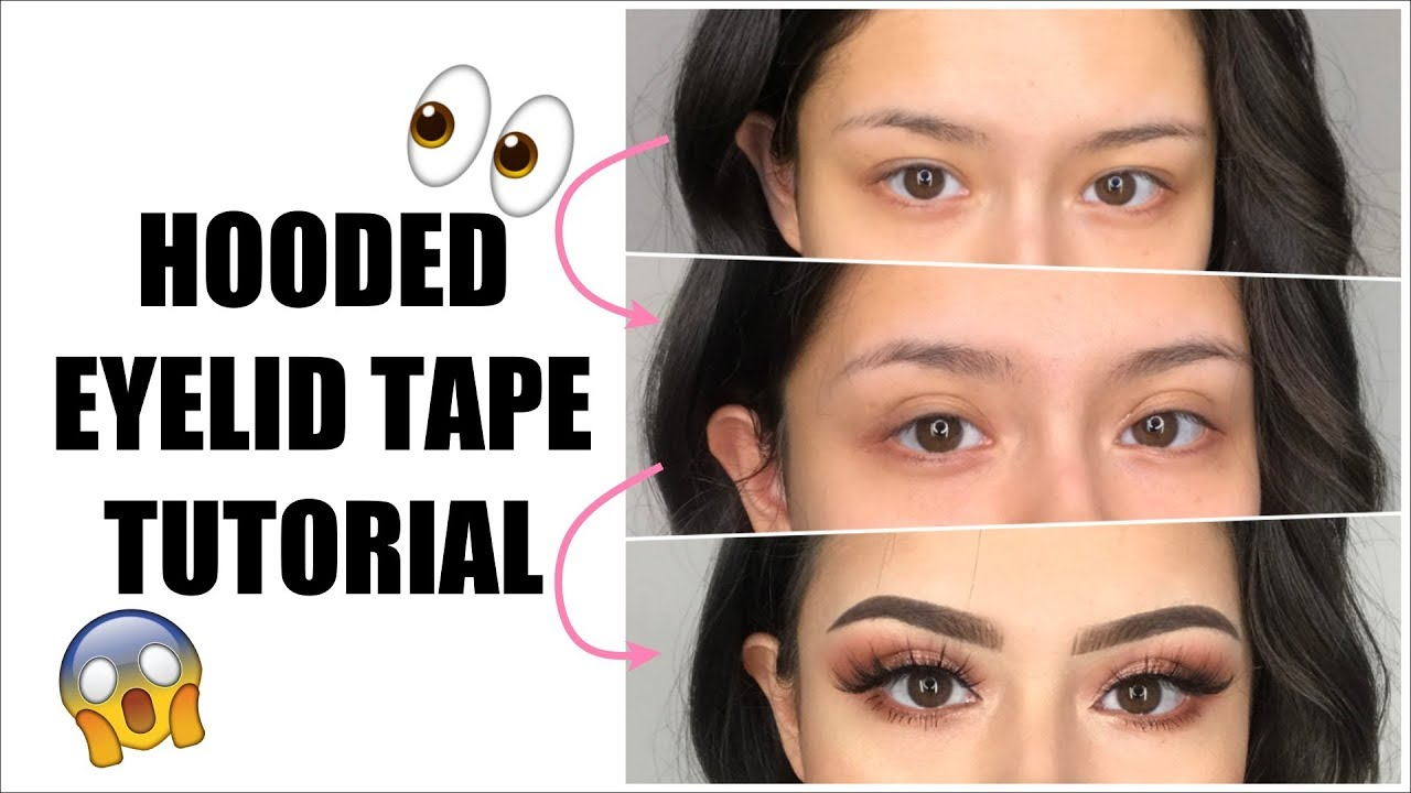 Double Eyelid Tape Tutorial