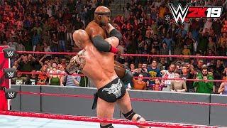 WWE 2K19 - Bobby Lashley vs The Rock Full Match - PC Gameplay