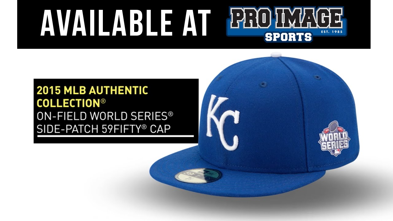 49d07b81f2c 2015 Kansas City Royals World Series Hats - YouTube