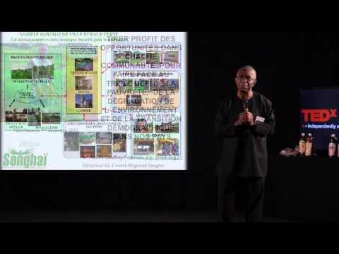 Les villes rurales vertes: Godfrey Nzamujo at TEDxRéunion