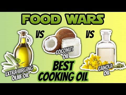 Canola Oil vs Coconut Oil vs Olive Oil For Cooking (BEST COOKING OIL)