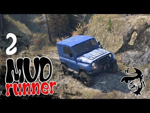 Spintires  MudRunner ч2 - Новое испытание Гора Завиток-какашка