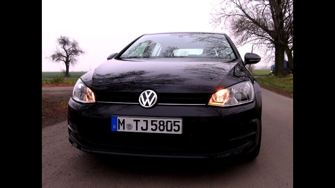 Volkswagen Golf 7 1 2 Tsi 86 Hp Test Drive Youtube