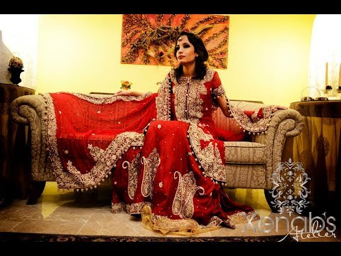 Nikkah Day Bridal Wedding Dresses Designs 2017 2018 Collection For