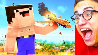 FUNNIEST Minecraft Animations You Laugh You Lose!