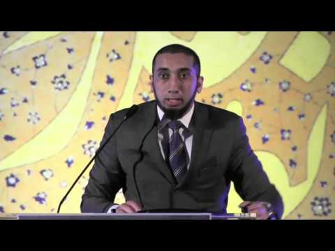 NO! That verse means something more than what you think!! [Brilliant example] - Nouman Ali Khan