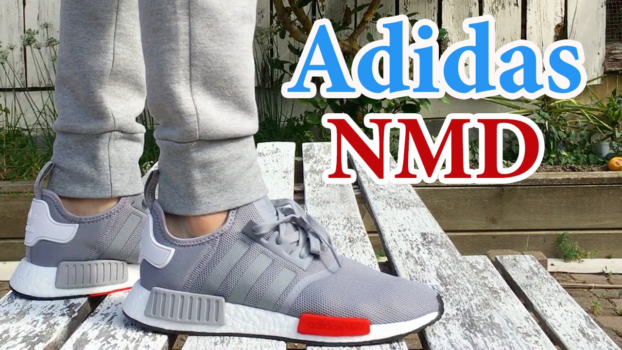 su selva Ciencias  Adidas NMD Runner (Grey) ON FEET & CLOSE UP with Different Pants - YouTube