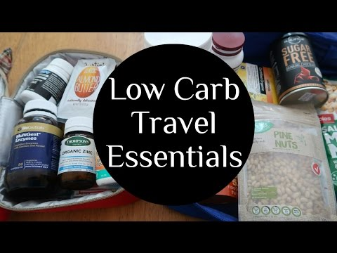 Low Carb Travel Essentials Snack Ideas + Inspiration