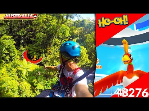 Download Youtube: POKÉMON GO IN THE JUNGLE + HOW TO DEFEAT HO OH!