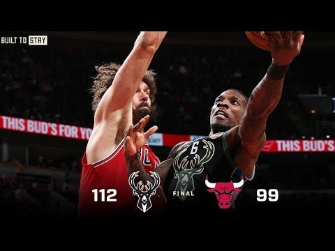 Bucks - Bucks beat Bulls 112-99, stay undefeated in games after losses
