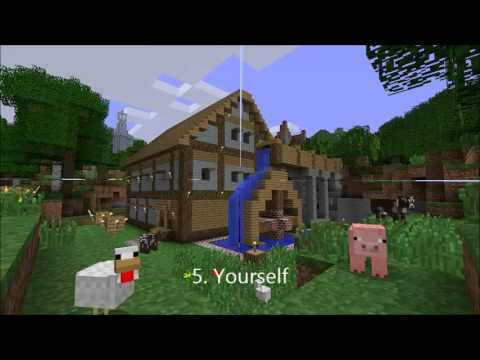 10 things to build in Minecraft when bored  YouTube