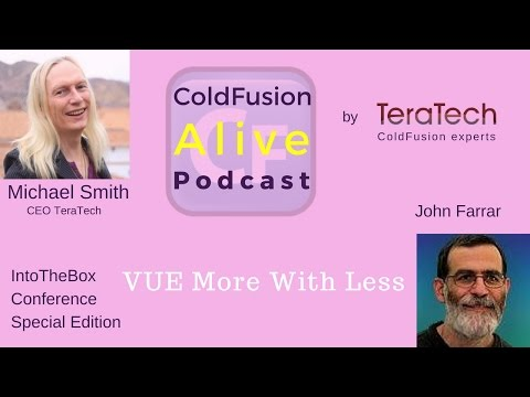 018 VUE More With Less, with John Farrar pt.1