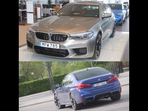 M-Bilar + Carspotting - M5 F90 both spotted and in showroom!