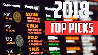 Top 5 CryptoCurrencies for 2018 (How I would Invest $1,000)