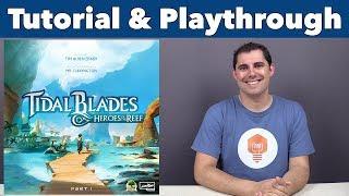 Tidal Blades: Heroes of the Reef Tutorial & Playthrough - JonGetsGames
