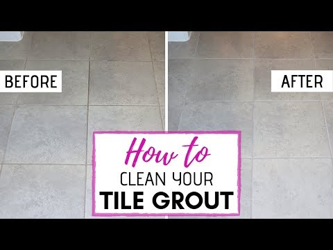 The BEST Grout Cleaner for Floor Tiles