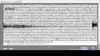 Earthquake Record - M6.2 near Jalisco, Mexico, 6.7.2016