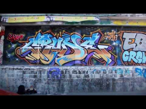 Crude Eb Bangkok Graffiti