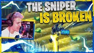 THE SNIPER IS BROKEN?! Fortnite Chapter 2 W/ Reverse2k & Nate Hill