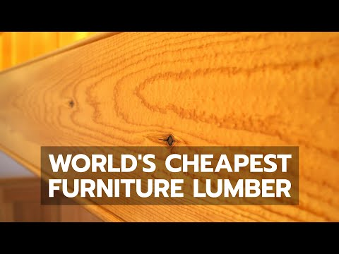 WOODWORKING: World's Cheapest Furniture Lumber