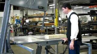 Bandsaw Model B2 Tilting Demonstration.avi