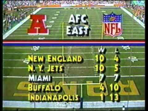NBC Football Intro - December 1986