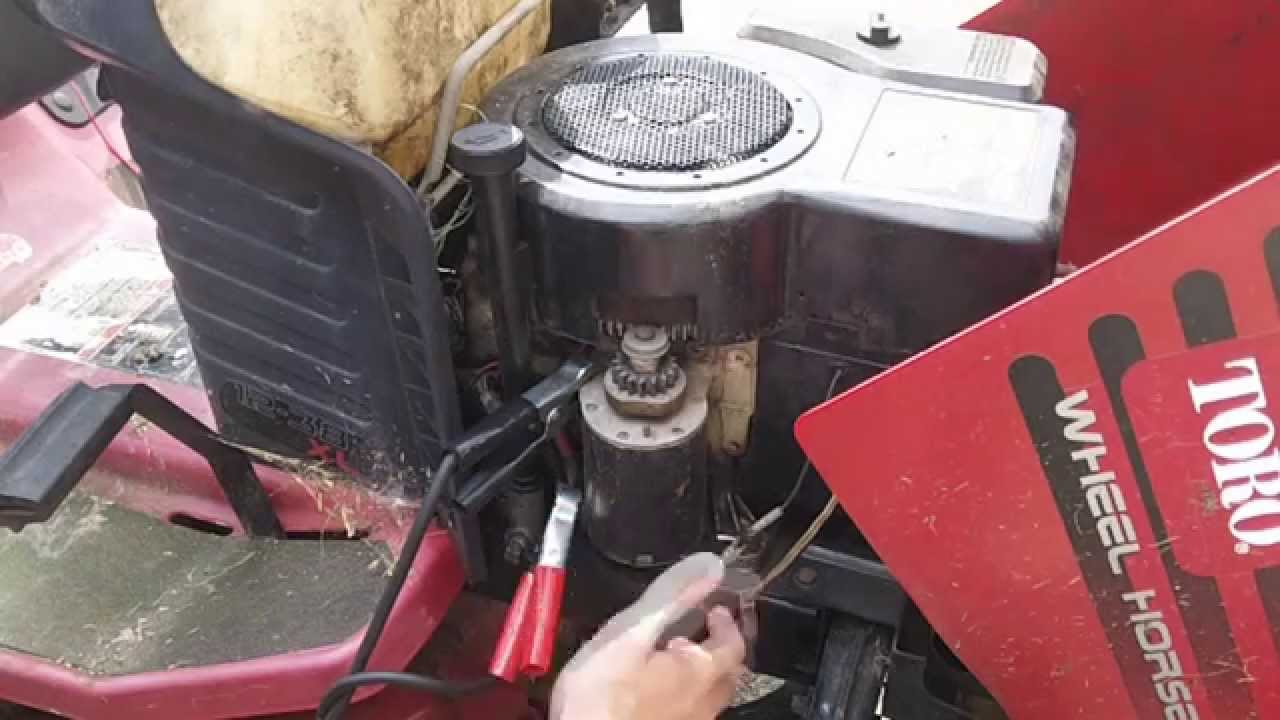 How to Hot wire a Briggs Flat Head Single  YouTube