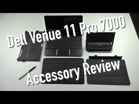 Dell Venue 11 Pro 7000 Accessory Review