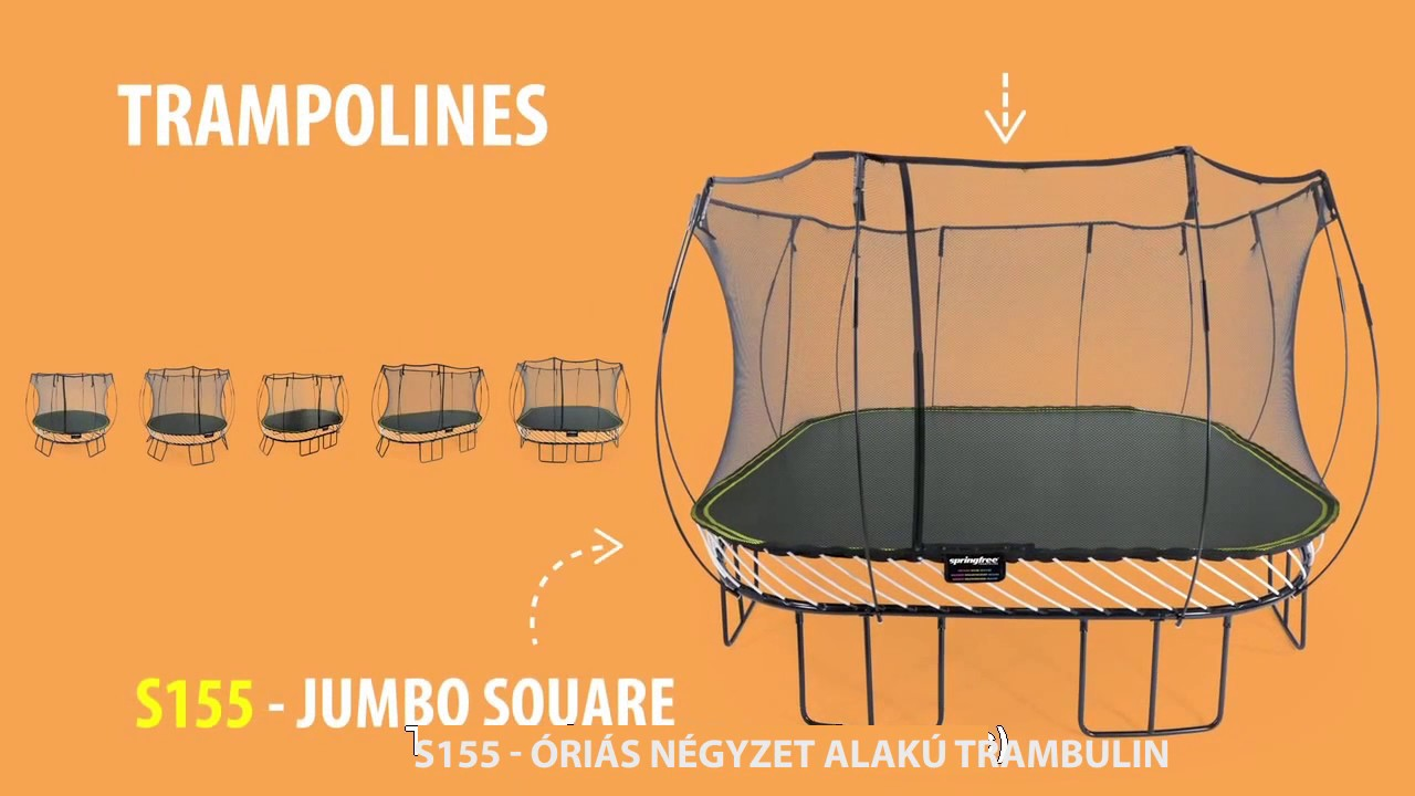 fogyni a trambulin)