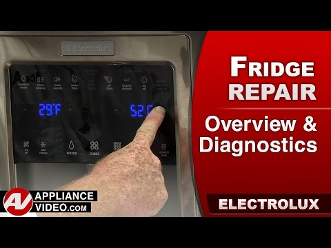 Electrolux & Frigidare Refrigerator – Overview, Diagnostics, and error codes