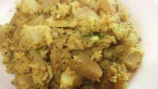 Breadfruit with savoury coconut (Del Mallum)