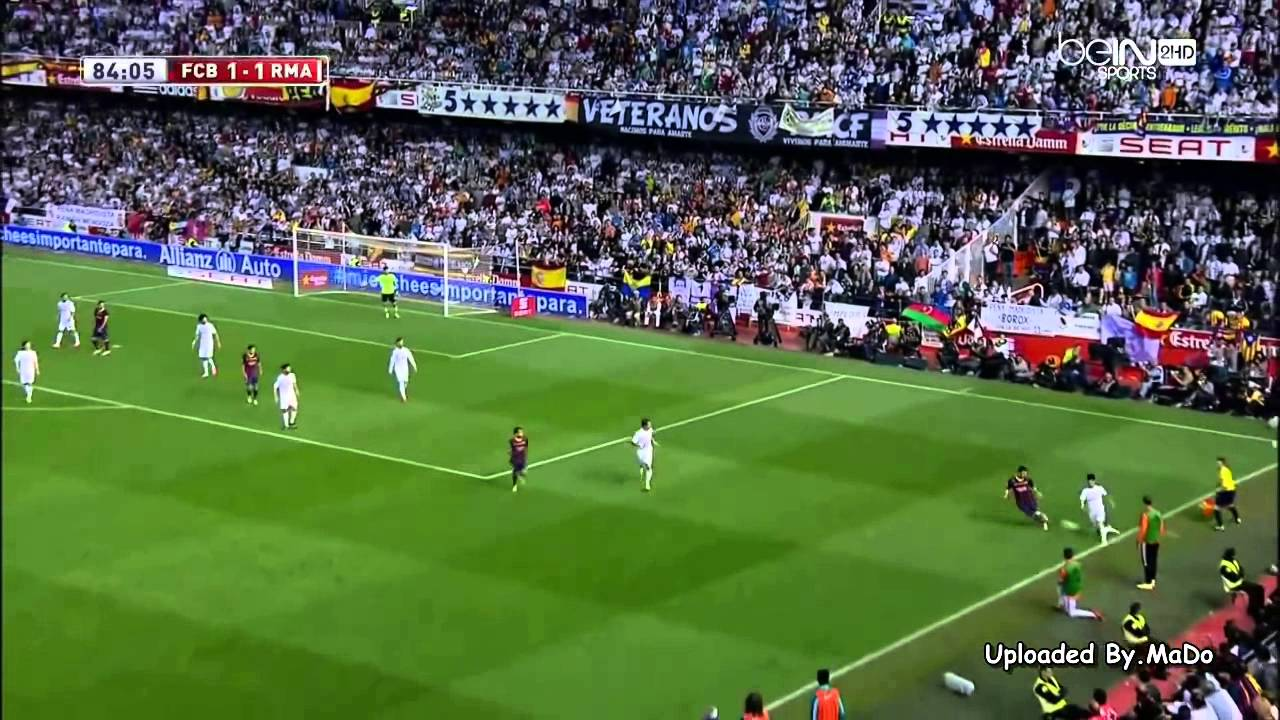 Download Barcelona vs Real Madrid اهداف النهائي