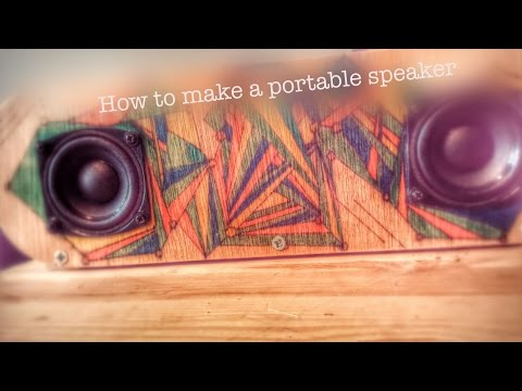 DIY Portable 30W Speaker (Tutorial!)+Sound Test - YouTube