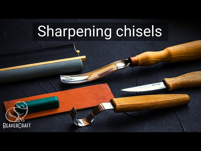 Sharpening Chisels Tutorial - Chisel Honing Guide