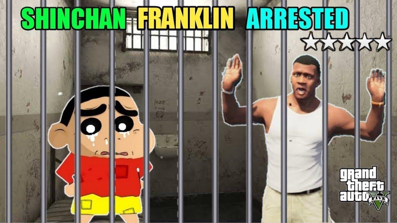 SHINCHAN & FRANKLIN GOT ARRESTED IN GTA5 ll Varun the gamer 2.0