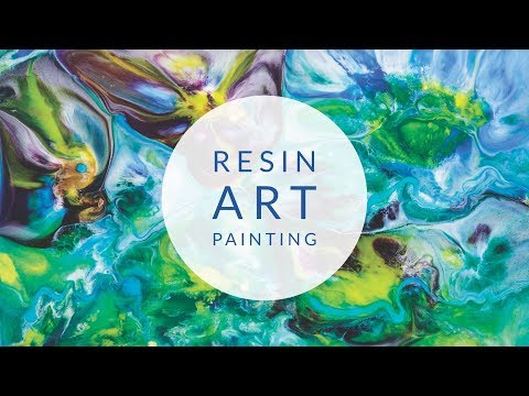Epoxy Resin Art Pouring Tutorial | Painting in Multiple Layers | Zart Art