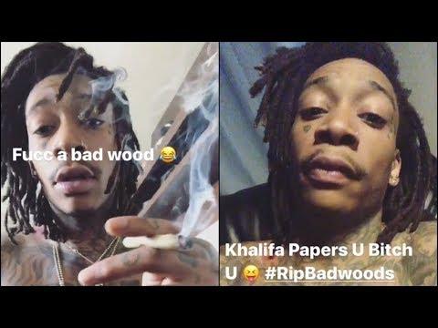 Wiz Khalifa Goes Off on People Whos Telling Him to Smoke Blunts