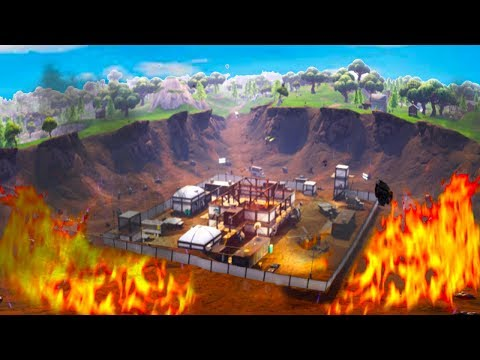 METEORITE HIT DUSTY DEPOT! (Fortnite: Battle Royale)