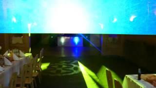 DJ V & S Brothers - oświetlenie wersji mini + laser