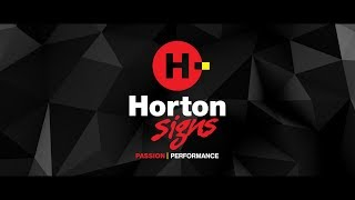 Introducing... Horton Signs
