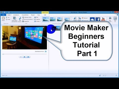 Windows Movie Maker Tutorial In Tamil