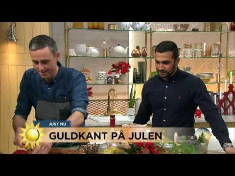 Saffranbonanza När Sébastien Adventbakar - Nyhetsmorgon (TV4)