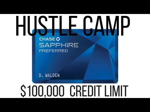 How To Get A $100,000 Visa with BAD Credit - The Power of Work