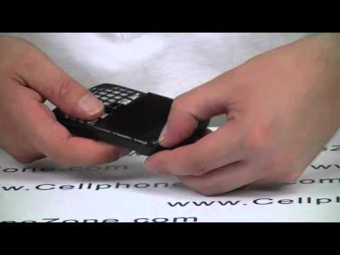 How To Change BlackBerry Curve 9300 Middle Frame Faceplate