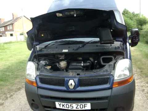 renault master 2 5 120bhp maxi roof youtube. Black Bedroom Furniture Sets. Home Design Ideas