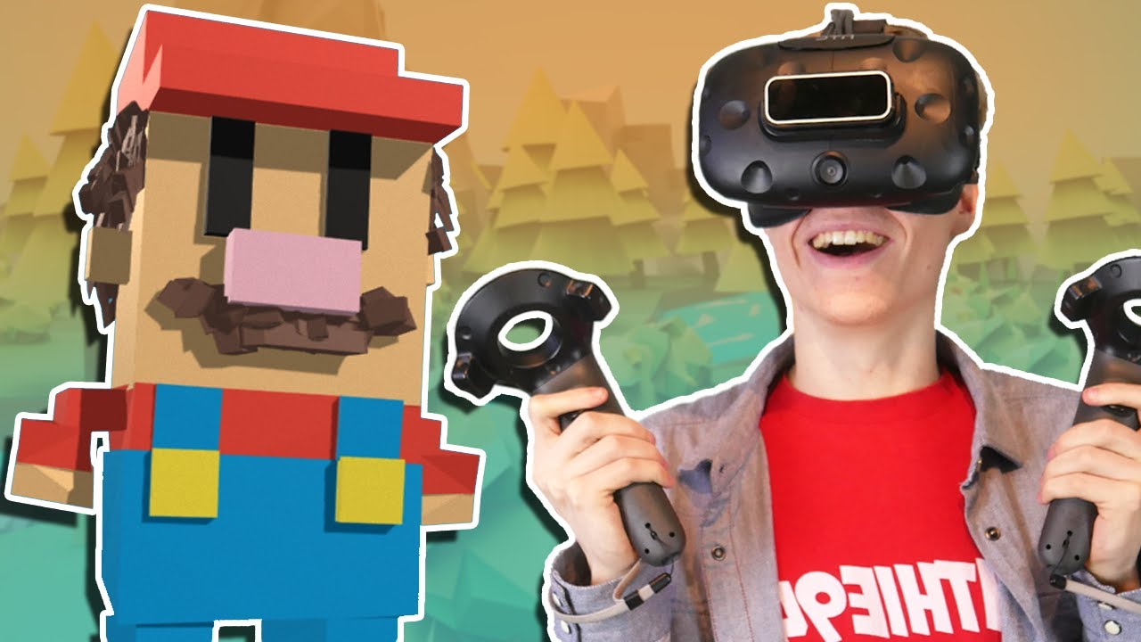 VIRTUAL REALITY 3D SCULPTING | Google Blocks VR (HTC Vive Gameplay)
