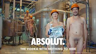 Absolut - See our Special Yeast! - The Vodka With Nothing To Hide